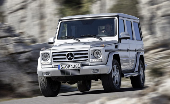 Mercedes-Benz G65 AMG Confirmed With 603 HP, Not For US