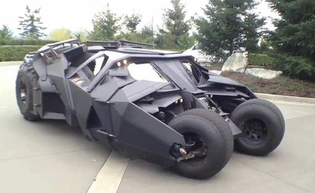 New Batmobile Raises Money for Cancer Research- Video