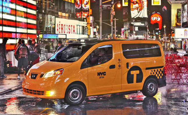 Nissan Reveals Production Spec NV200 Yellow Cab: 2012 New York Auto Show Preview