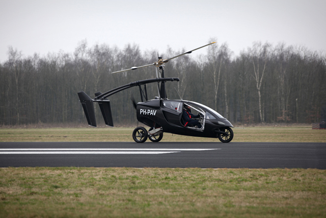 PAL-V Flying Car Makes Successful Maiden Flight » AutoGuide.com News