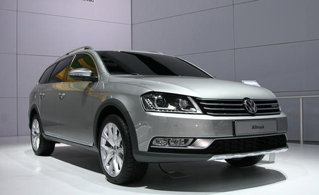 VW Passat AllTrack Just a Concept, for Now: 2012 New York Auto Show