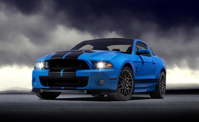 Shelby GT500 to Remain in 2014 Mustang Line