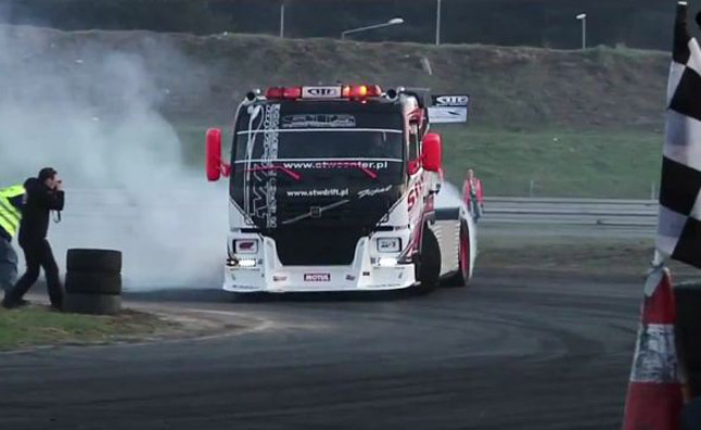 King of Europe Drift Competition Gets Sideways- Video