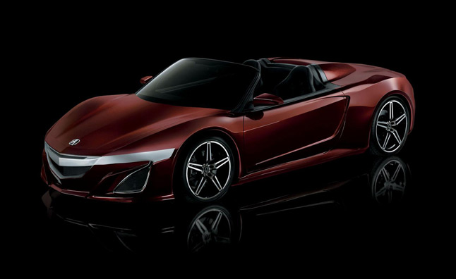 Acura NSX Roadster Unveiled for Avengers Movie