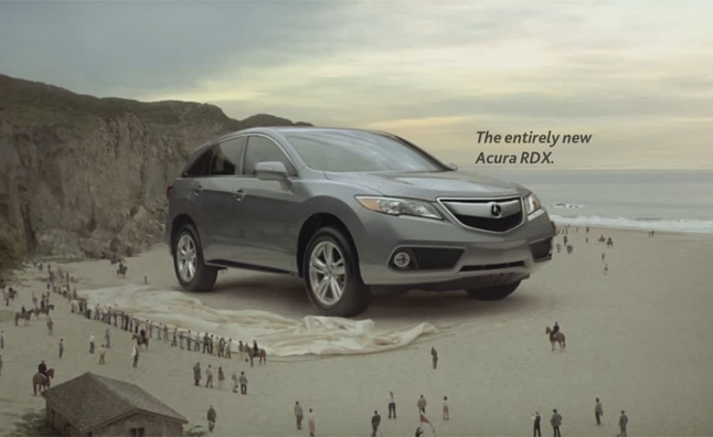 2013 Acura RDX Gets Gullivers Travels Themed Commercials