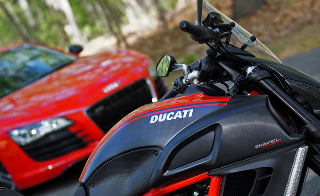 Audi Buys Ducati for Small Engine Technology: Official Release