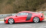 Audi R8 e-Tron Tests on Nurburgring – Spy Photos