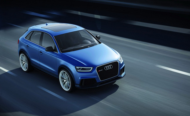 Audi RS Q3 Concept is a 360-HP High-Riding Sports Car