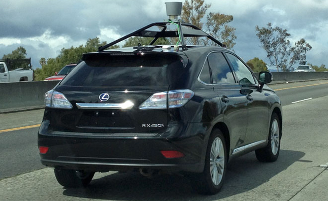 Lexus RX450h Joins Google Autonomous Vehicles Fleet