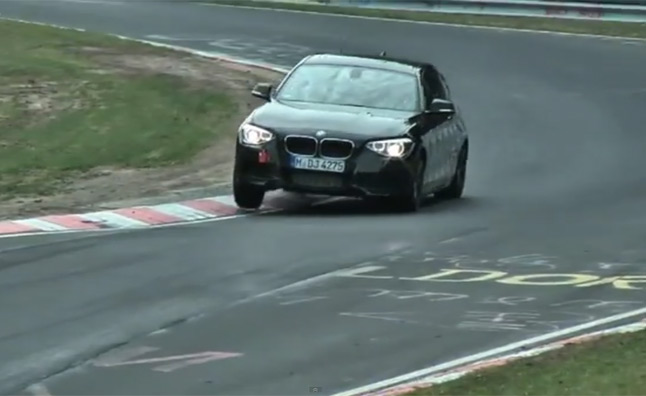 BMW M135i Spied Running the Nurburgring – Video