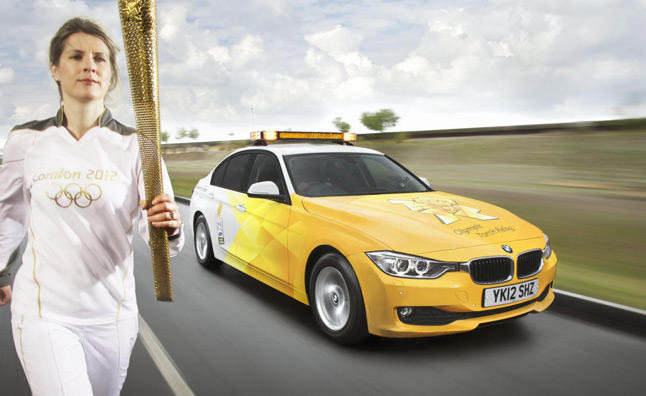 2012 BMW Low-Emissions Olympic Fleet Unveiled