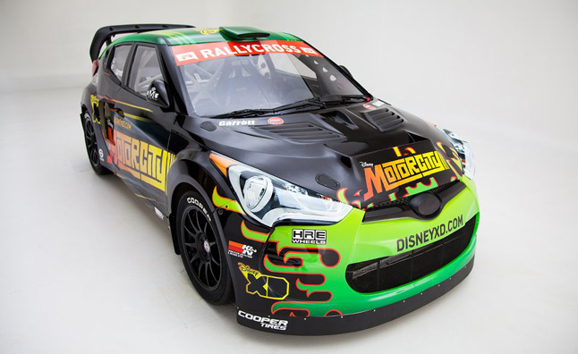 Hyundai Veloster Sponsored by Disney XD to Compete in Global RallyCross