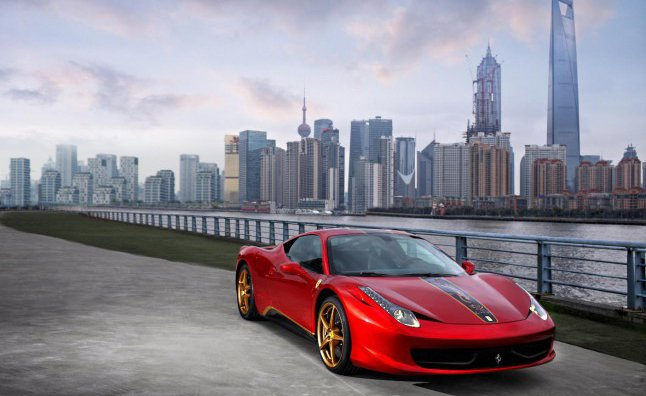 Ferrari 458 Special Edition Celebrates 20th Anniversary in China
