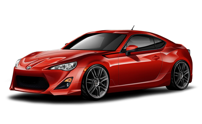 2013 Scion FR-S Aero Kit Released by FIVE:AD