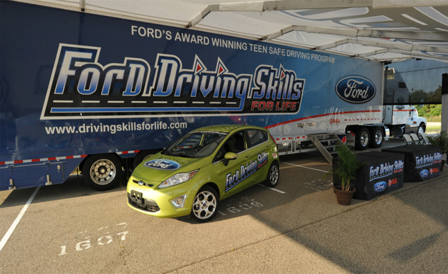 Ford Driving Skills for Life Programs Offered Free to Teens