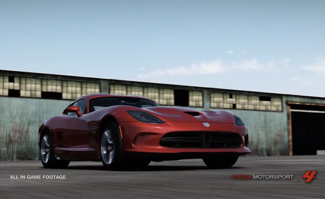 2013 SRT Viper Joins Forza 4 Roster – Video