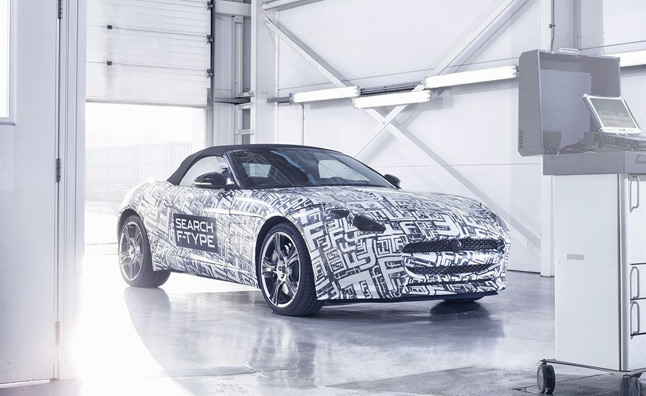 Jaguar F-Type Test Mule Photos Released