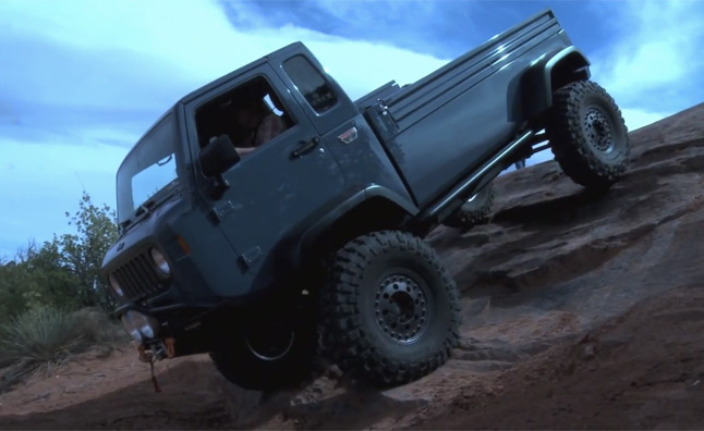 Jeep Mighty FC Concept Conquers Moab – Video