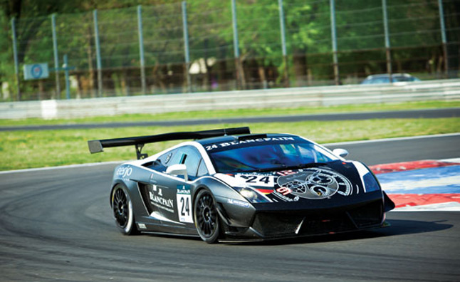 Lamborghini Gallardo LP600 GT3 Race Being Auctioned for Charity