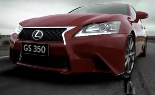 Lexus GS 350 Plays Chicken with an LFA – Video