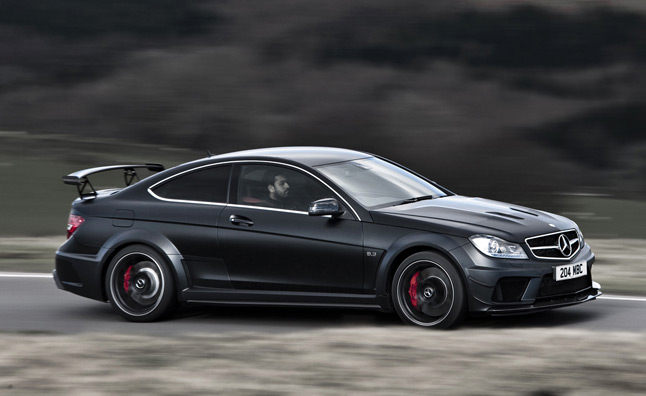 Mercedes-Benz C63 AMG Black Series is Perfection in Matte Black