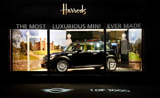 MINI Goodwood on Display at Harrods with Rolls-Royce Style