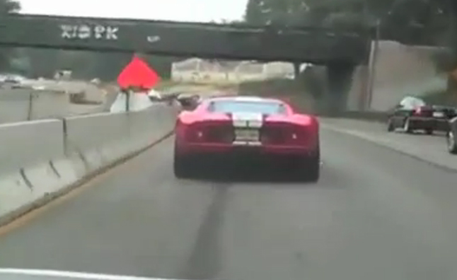 High-Speed Supercar Police Escort Prompts Investigation