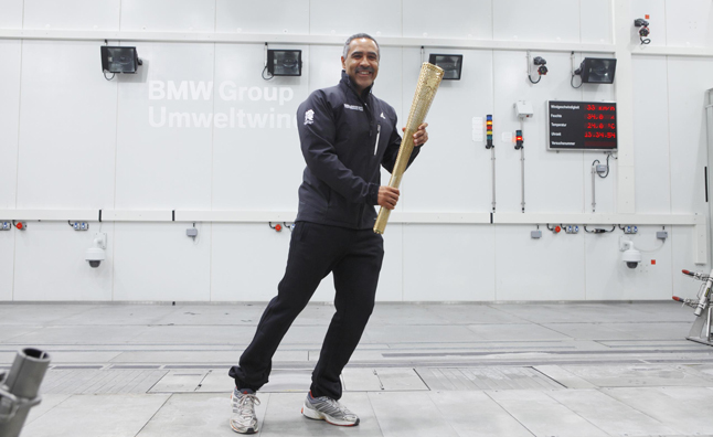 BMW Lends Weather Testing Facility to Proof Olympic Torch