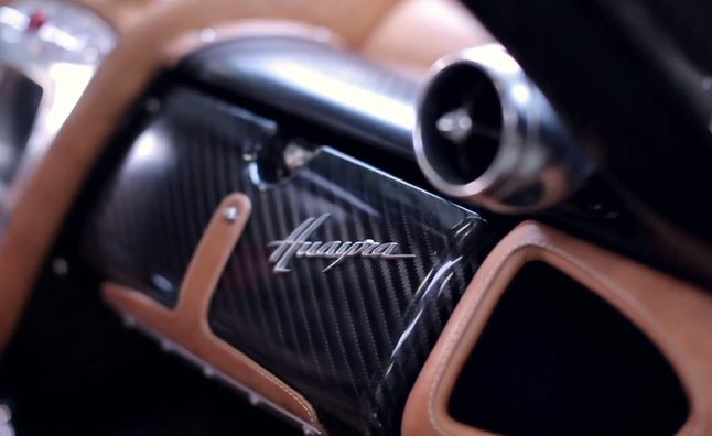 Pagani Huayra Design and Production Explained in Video