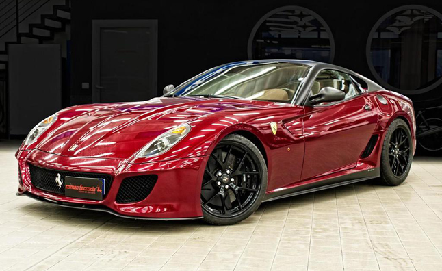 Romeo Ferraris Customizes Ferrari 599 GTO