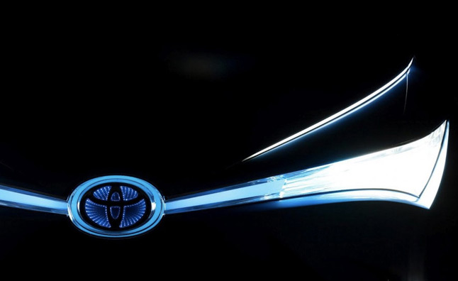 New Toyota Hybrid Concept Teased for Auto China Beijing Debut