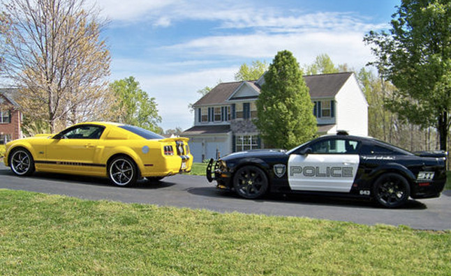 Transformers 'Barricade' Police Mustang For Sale