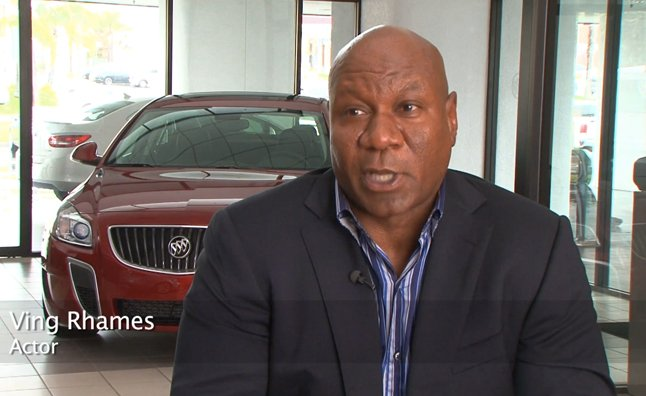 New Buick Commercial Features Tough Guy Ving Rhames