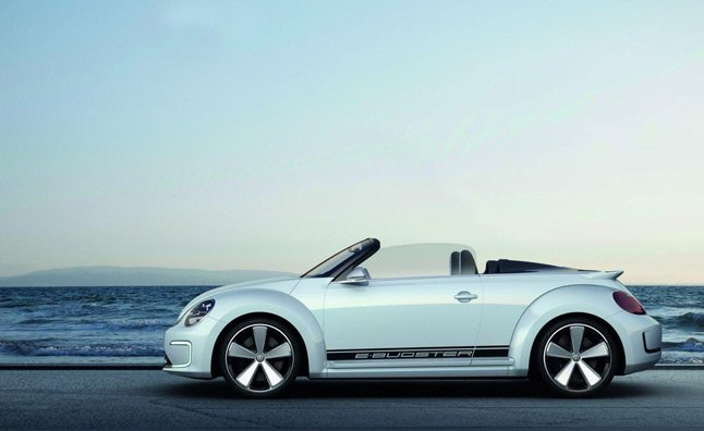Volkswagen E-Bugster Speedster Revealed Ahead of Beijing Auto Show – Video