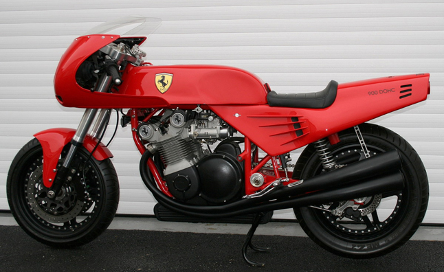 Ferrari Motorcycle Sells at Auction for Almost $138,000