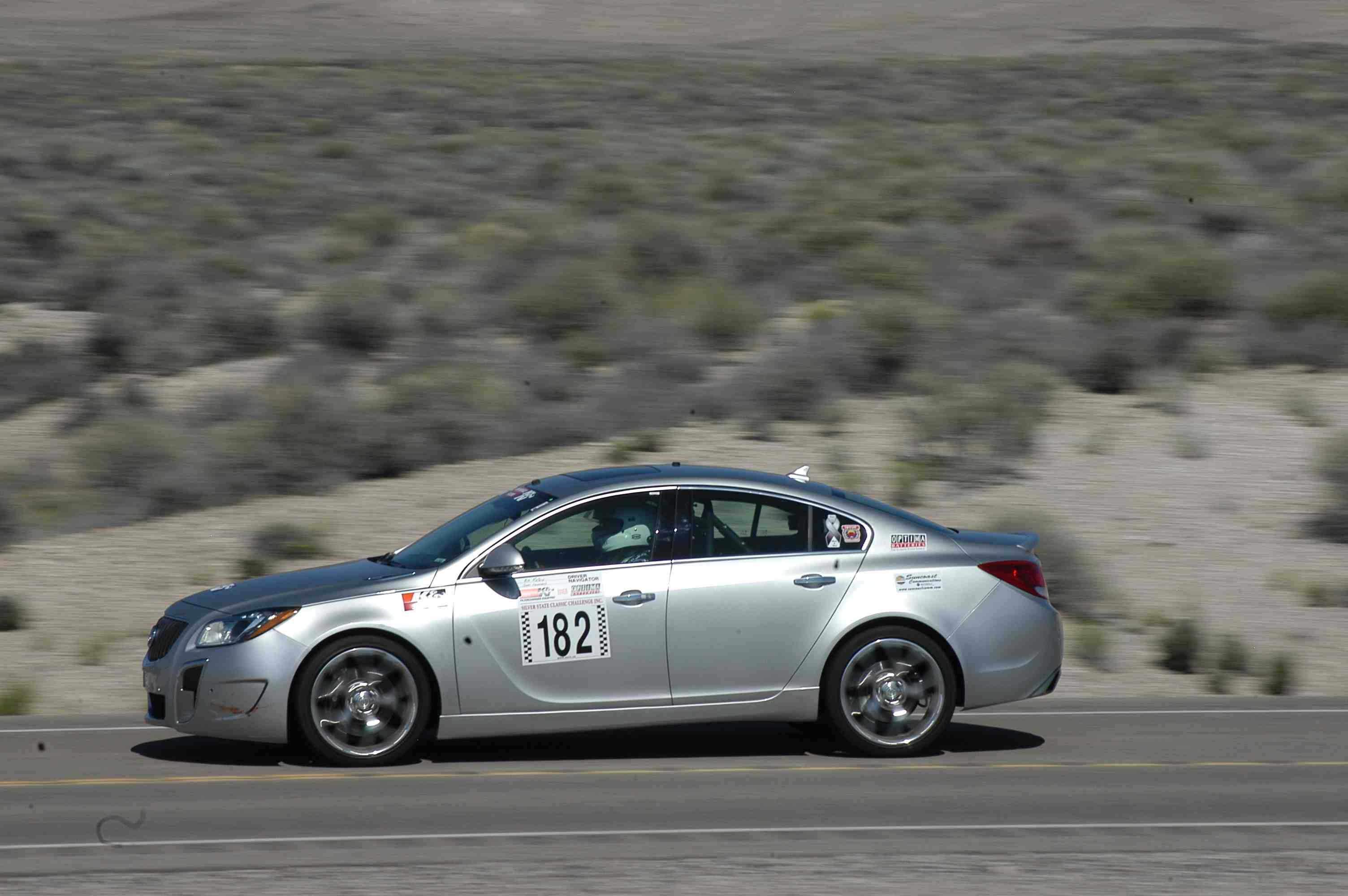 Buick Regal GS Hits 162 MPH in Nevada Open Road Challenge