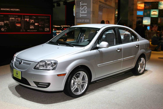 2012 Coda Sedan first fleet order