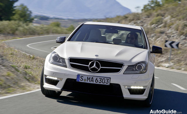 Mercedes-Benz C 63 AMG Coupé Drifts Laguna Seca in Thanks- Video