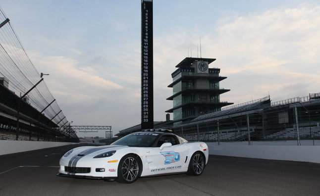 Chevrolet Corvette ZR1 Announced as 2012 Indy 500 Pace Car