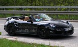 2013 Porsche 911 Turbo Cabriolet Caught Top-Down Testing – Spy Photos