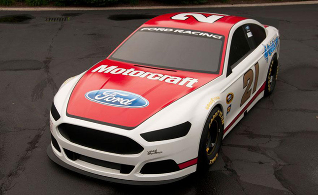2013 NASCAR Ford Fusion Livery Revealed