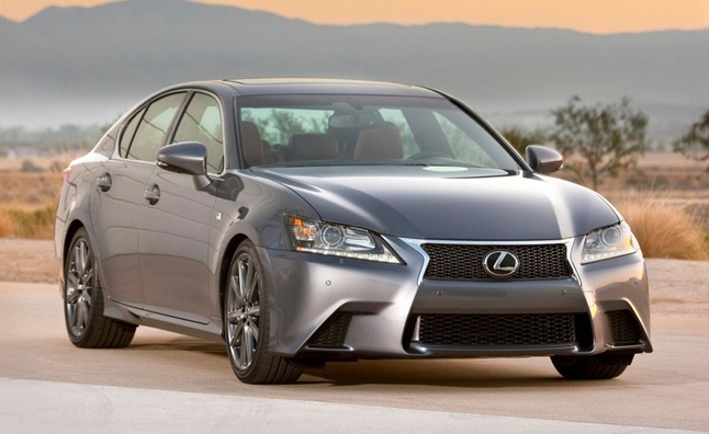 2013 Lexus GS 350 F Sport Recalled for Steering Flaw