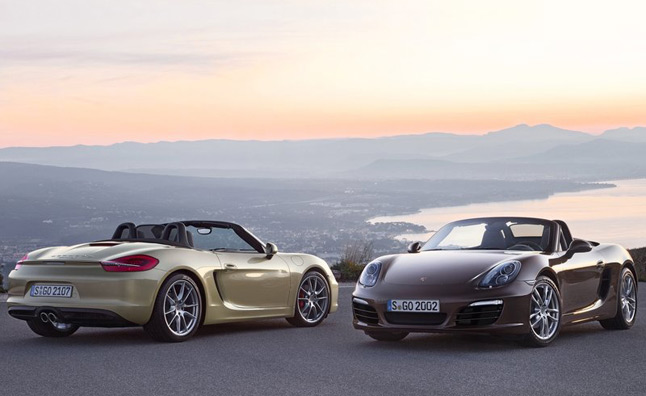 2013 Porsche Boxster Officially Rated at 32-MPG Highway