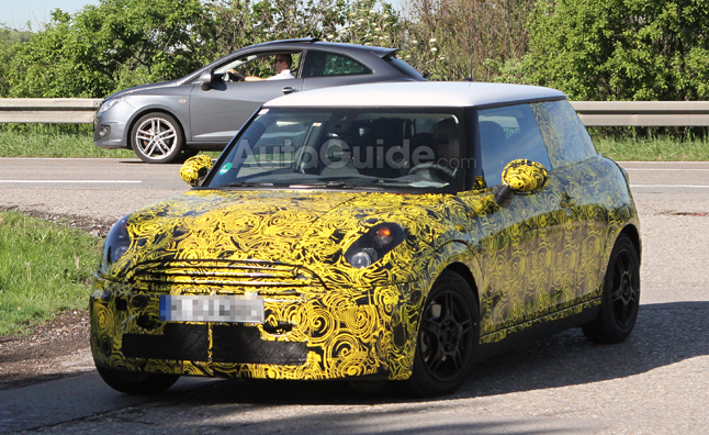 2014 MINI Cooper Spy Photos Show Radical Redesign