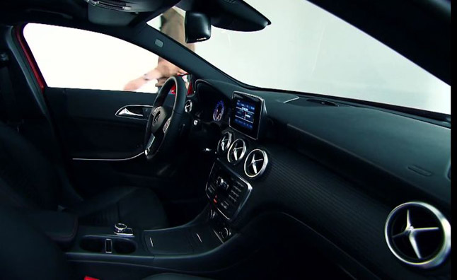 Mercedes-Benz A-Class Interior Explained by Designer in Video