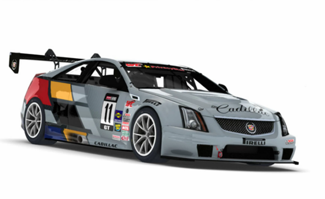 Cadillac CTS-V Coupe Racecar Makes Virtual Debut at iRacing.com