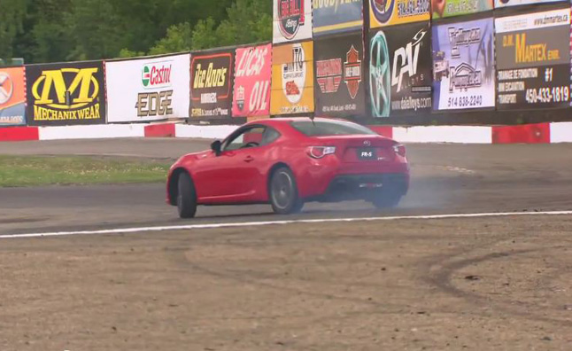 Scion FR-S Drifted by Canadian Pro Pat Cyr- Video