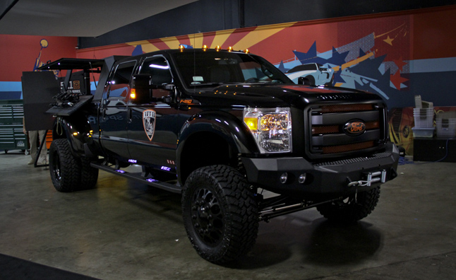 Ford F-450 'The B.E.A.S.T' is Every Swat Teams Dream