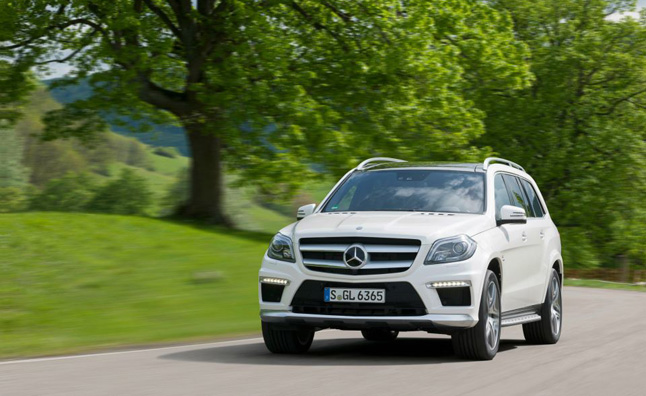 Mercedes-Benz GL63 AMG Revealed with 550 hp