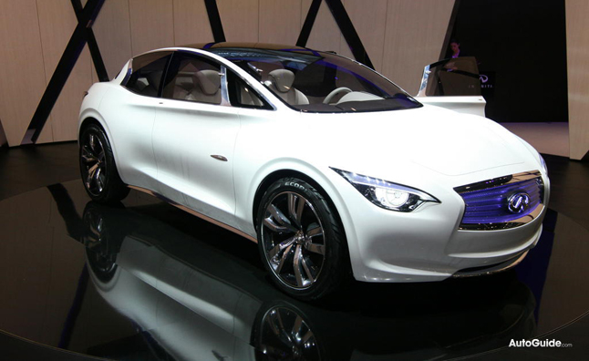 Infiniti Compact To Enter Production in 2014
